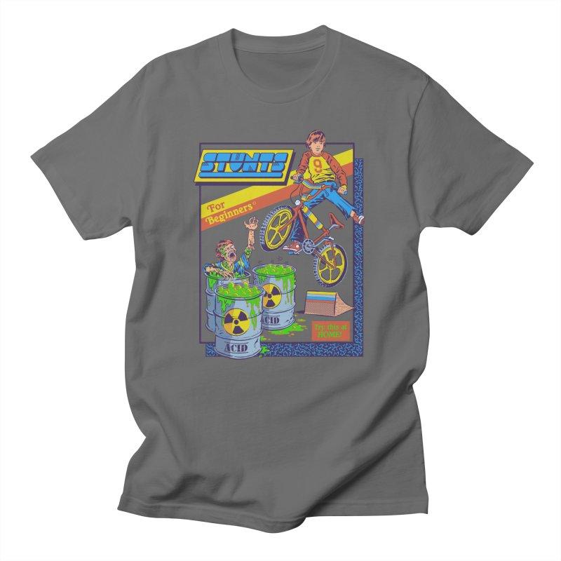 Stunts for Beginners Men's T-Shirt by Steven Rhodes