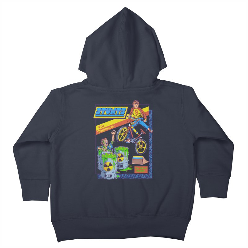 Stunts for Beginners Kids Toddler Zip-Up Hoody by Steven Rhodes