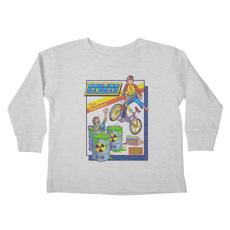Stunts for Beginners Kids Toddler Longsleeve T-Shirt by Steven Rhodes