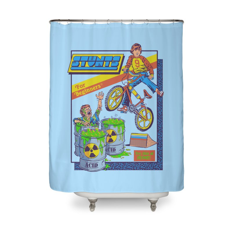 Stunts for Beginners Home Shower Curtain by Steven Rhodes
