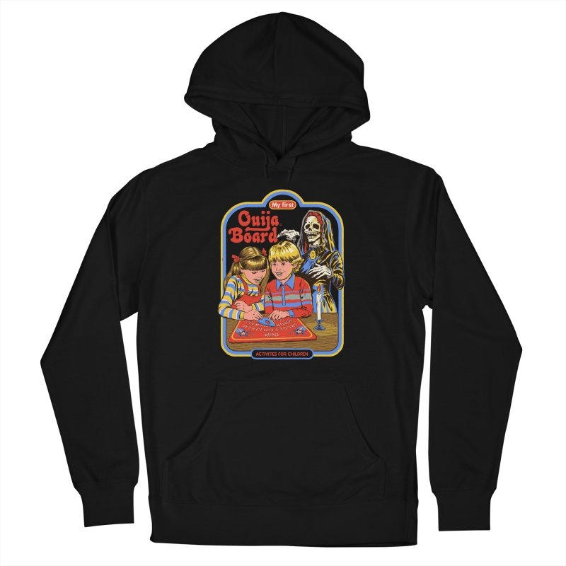 My First Ouija Board Men's French Terry Pullover Hoody by Steven Rhodes