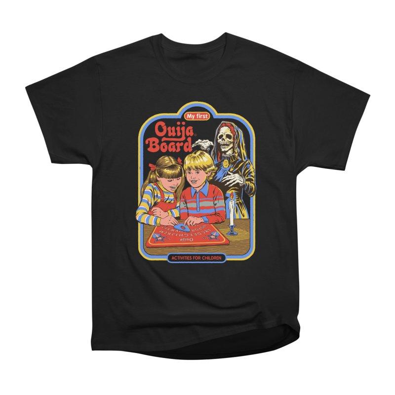 My First Ouija Board Women's Heavyweight Unisex T-Shirt by Steven Rhodes