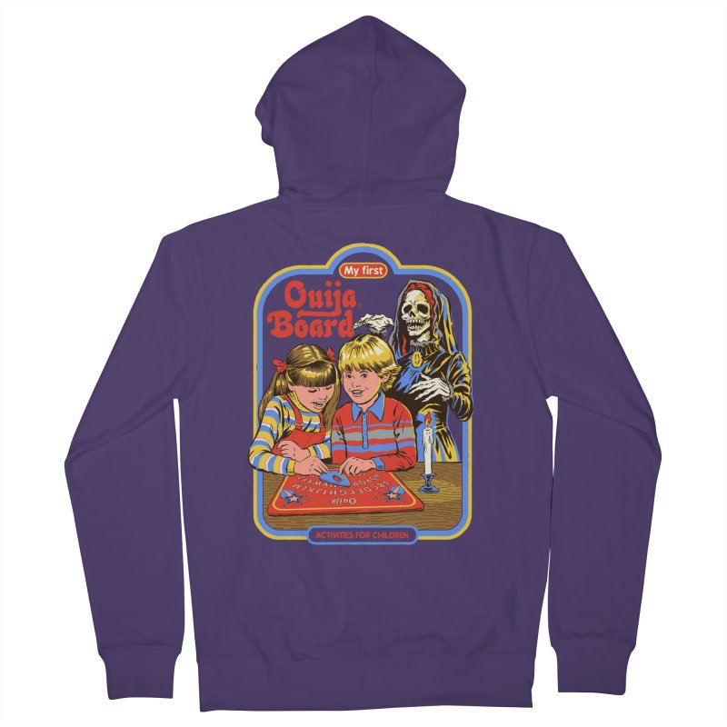 My First Ouija Board Women's French Terry Zip-Up Hoody by Steven Rhodes