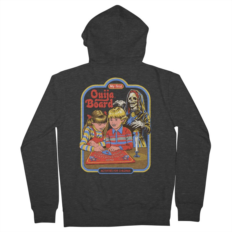 My First Ouija Board Men's French Terry Zip-Up Hoody by Steven Rhodes