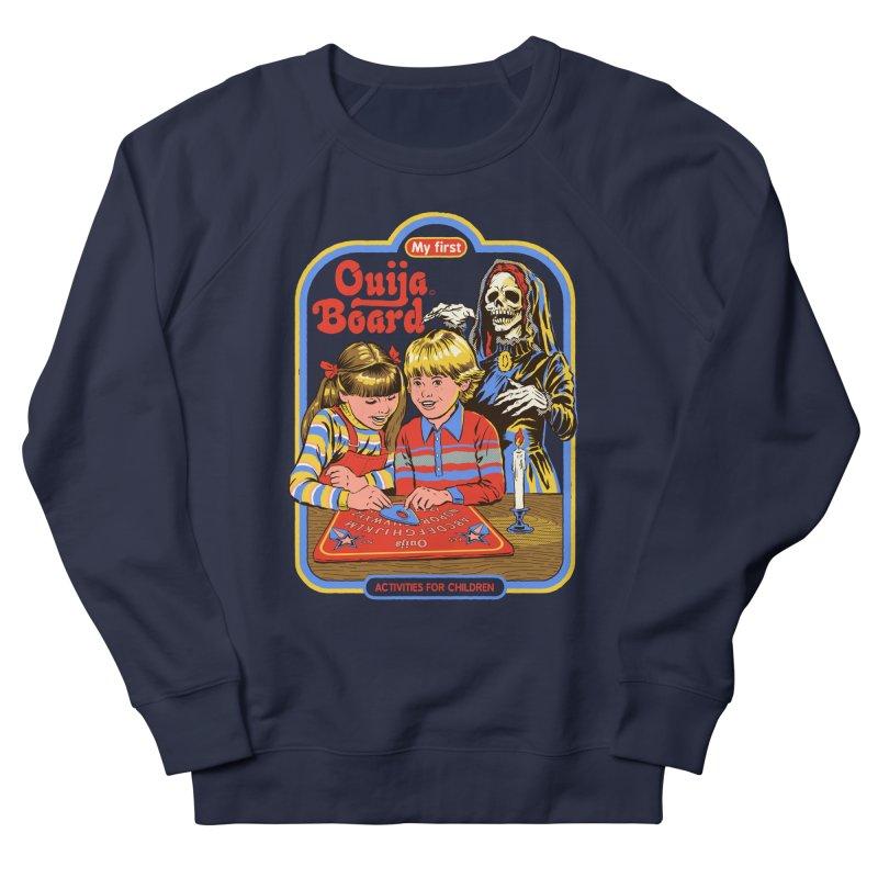 My First Ouija Board Men's French Terry Sweatshirt by Steven Rhodes