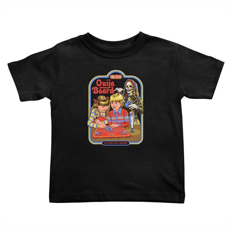 My First Ouija Board Kids Toddler T-Shirt by Steven Rhodes