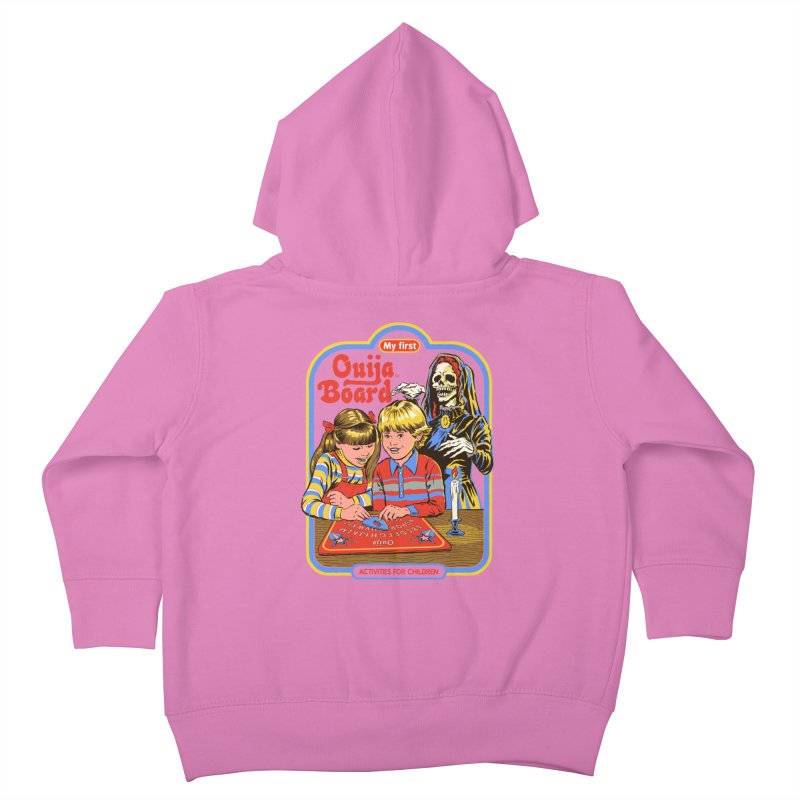 My First Ouija Board Kids Toddler Zip-Up Hoody by Steven Rhodes