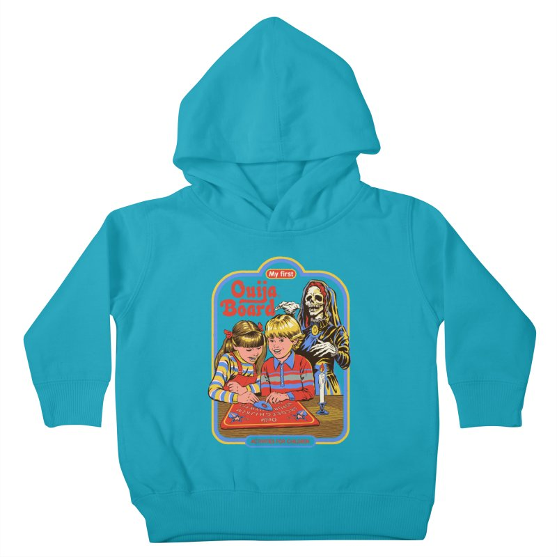 My First Ouija Board Kids Toddler Pullover Hoody by Steven Rhodes