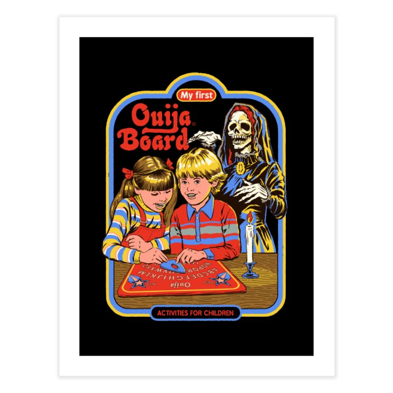 My First Ouija Board Home Fine Art Print by Steven Rhodes