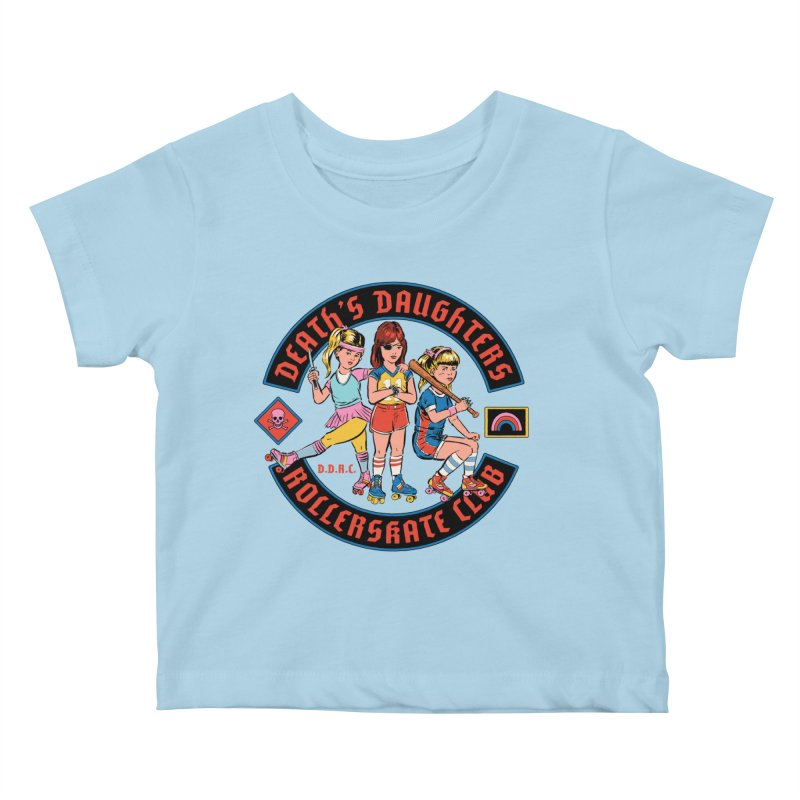D.D.R.C. Kids Baby T-Shirt by Steven Rhodes