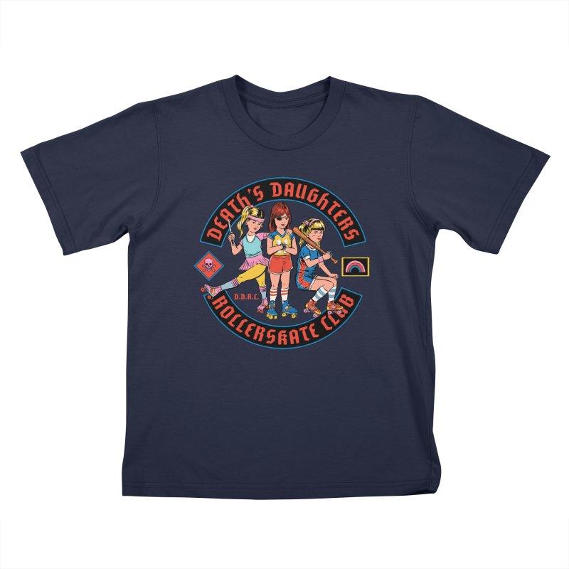 D.D.R.C. Kids T-Shirt by Steven Rhodes