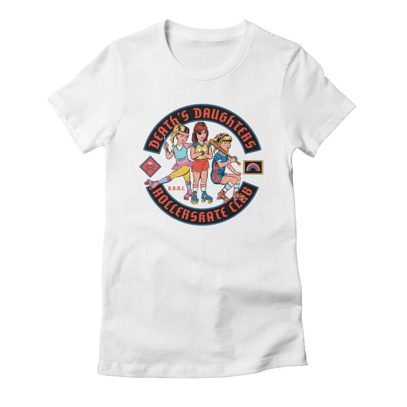 D.D.R.C. Women's Fitted T-Shirt by Steven Rhodes