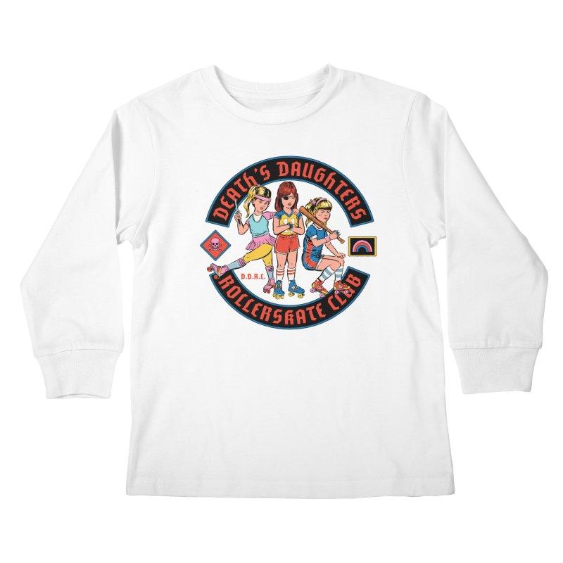 D.D.R.C. Kids Longsleeve T-Shirt by Steven Rhodes