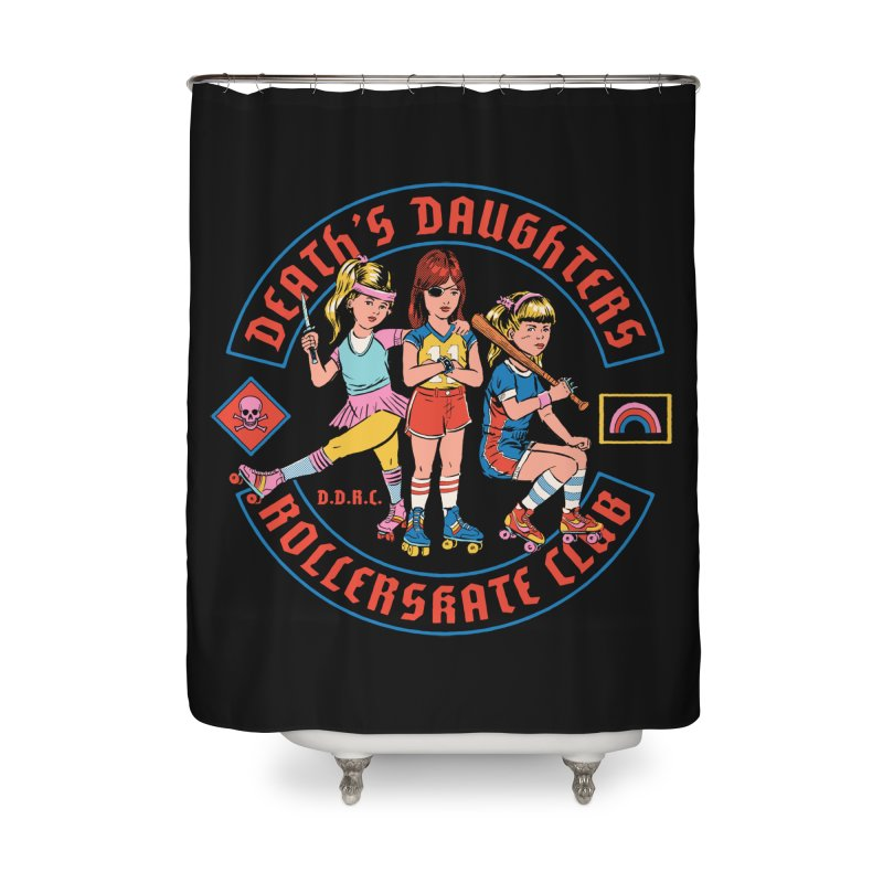 D.D.R.C. Home Shower Curtain by Steven Rhodes
