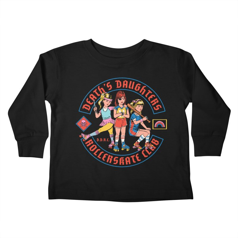 D.D.R.C. Kids Toddler Longsleeve T-Shirt by Steven Rhodes