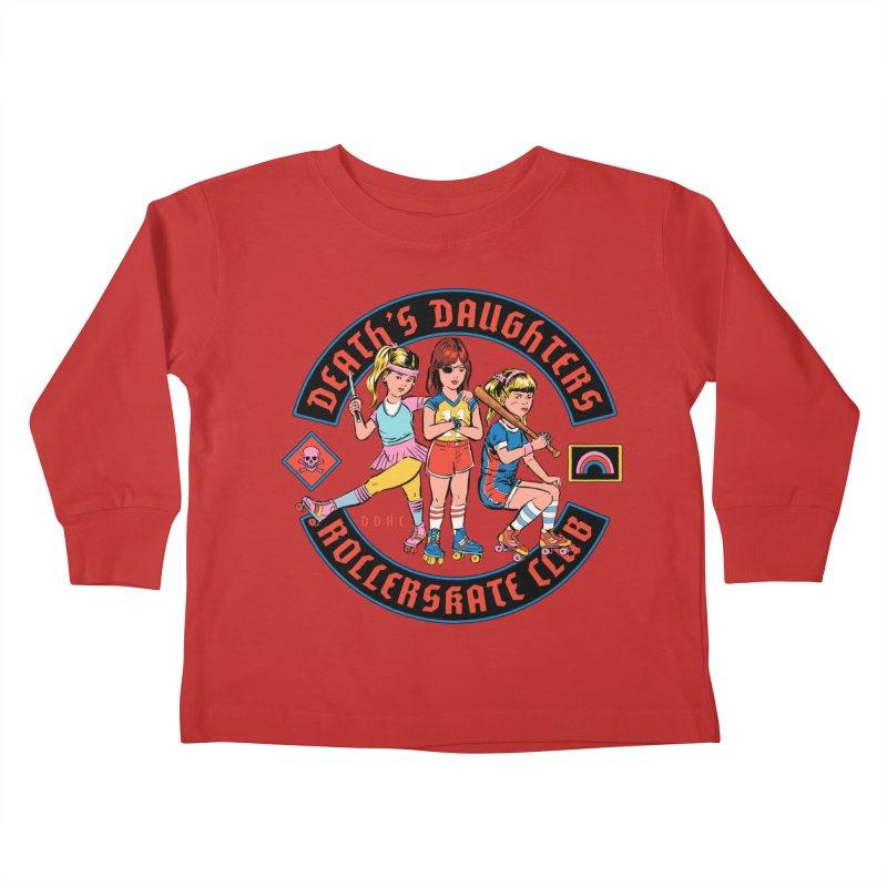 D.D.R.C. Kids Toddler Longsleeve T-Shirt by Steven Rhodes
