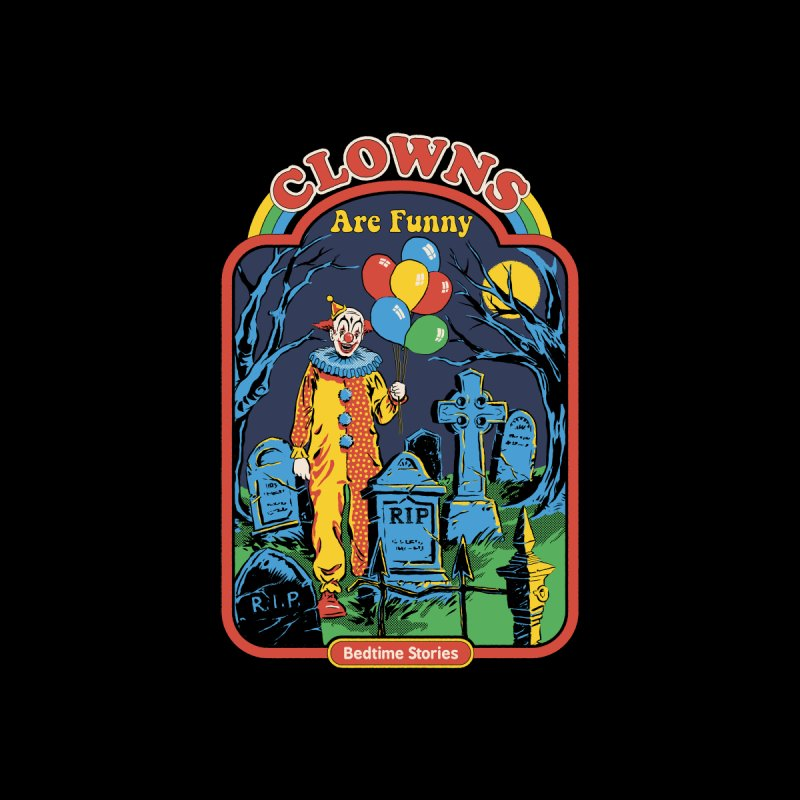 Clowns Are Funny Kids Baby T-Shirt by Steven Rhodes