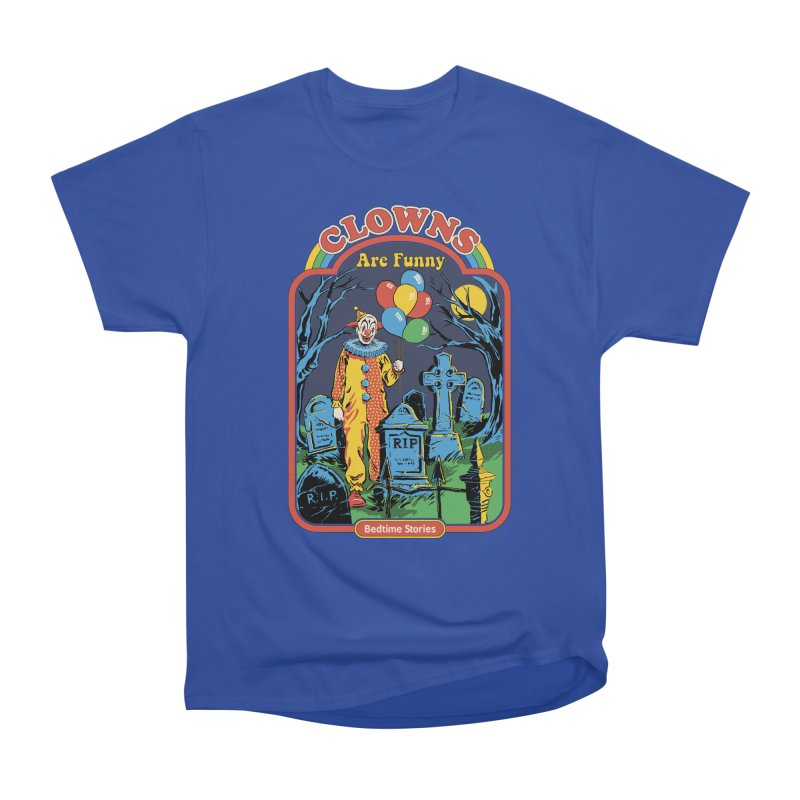 Clowns Are Funny Men's Heavyweight T-Shirt by Steven Rhodes
