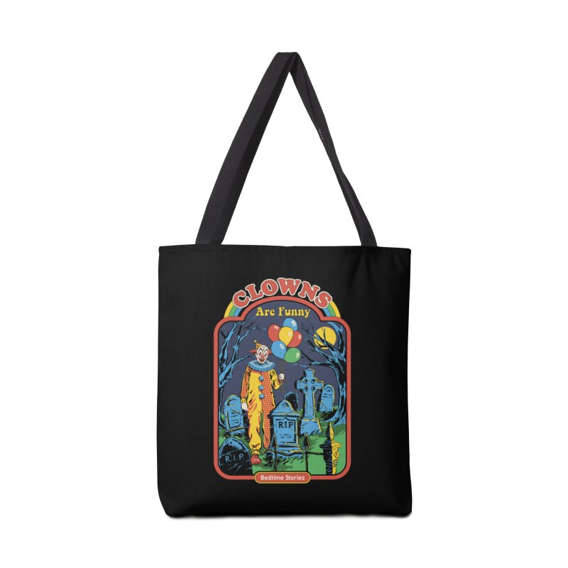 Clowns Are Funny Accessories Bag by Steven Rhodes
