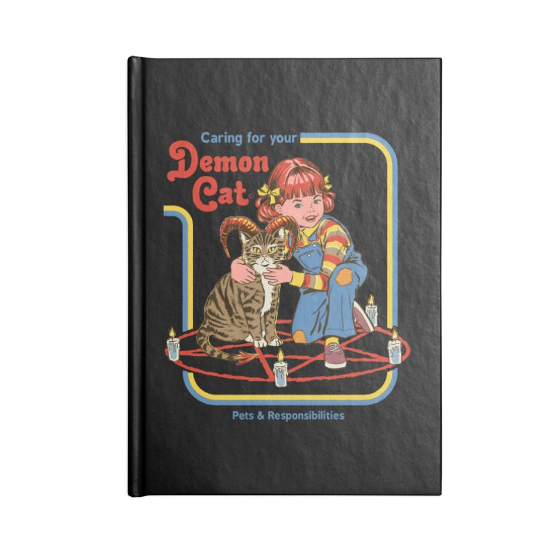 Caring for your Demon Cat Accessories Notebook by Steven Rhodes