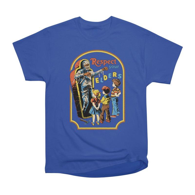 Respect Your Elders Women's Heavyweight Unisex T-Shirt by Steven Rhodes