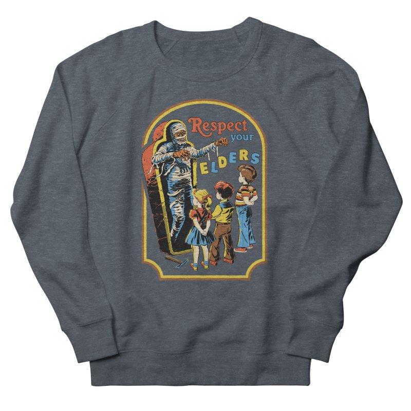 Respect Your Elders Men's French Terry Sweatshirt by Steven Rhodes