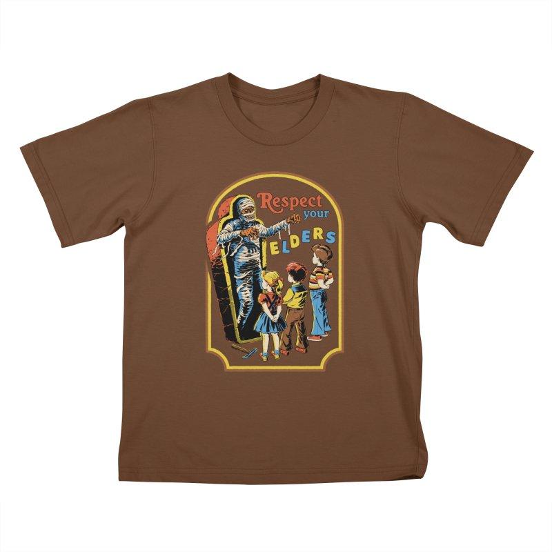 Respect Your Elders Kids T-Shirt by Steven Rhodes