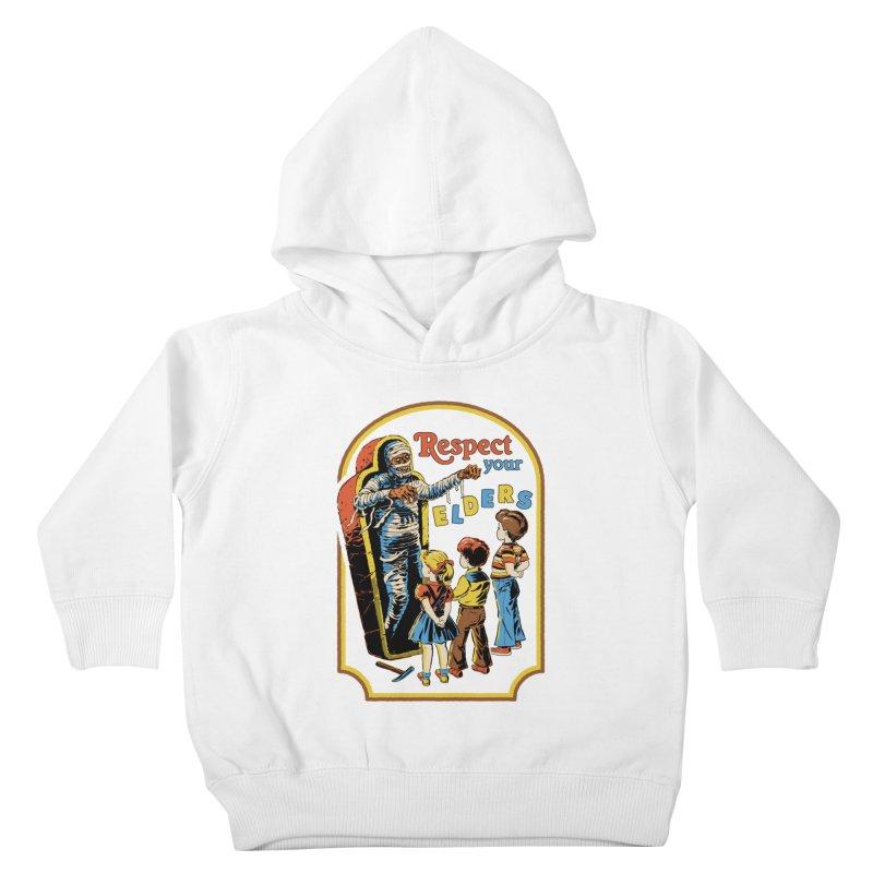 Respect Your Elders Kids Toddler Pullover Hoody by Steven Rhodes