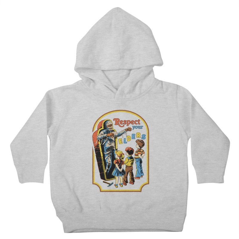 Respect Your Elders Kids Toddler Pullover Hoody by Steven Rhodes
