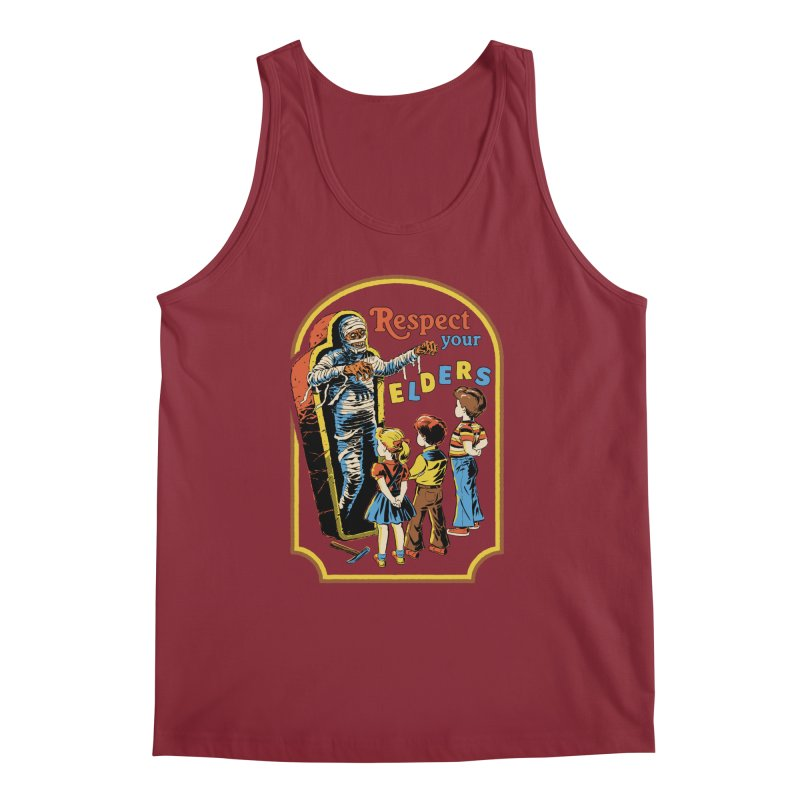 Respect Your Elders Men's Regular Tank by Steven Rhodes