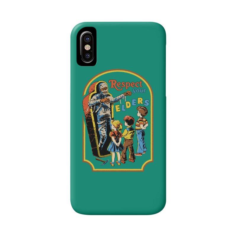 Respect Your Elders Accessories Phone Case by Steven Rhodes