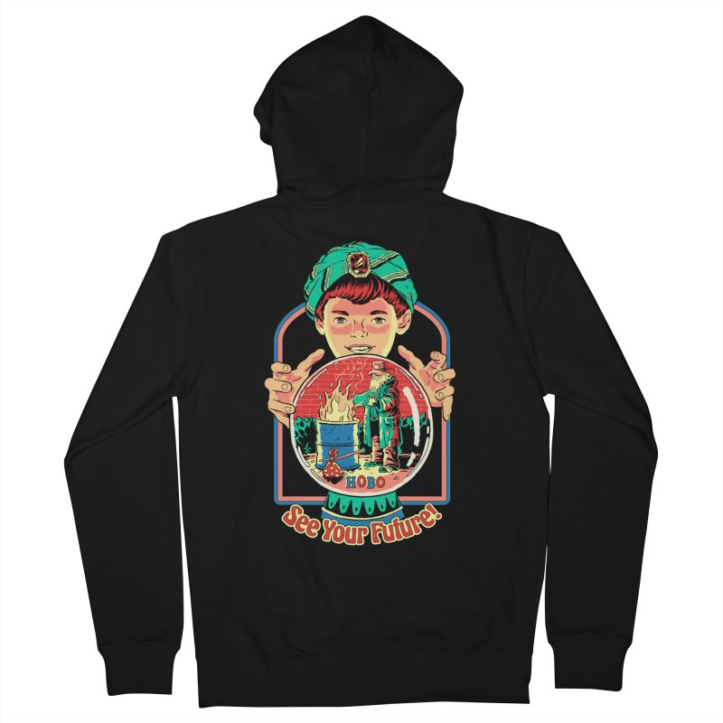 See Your Future! Women's French Terry Zip-Up Hoody by Steven Rhodes