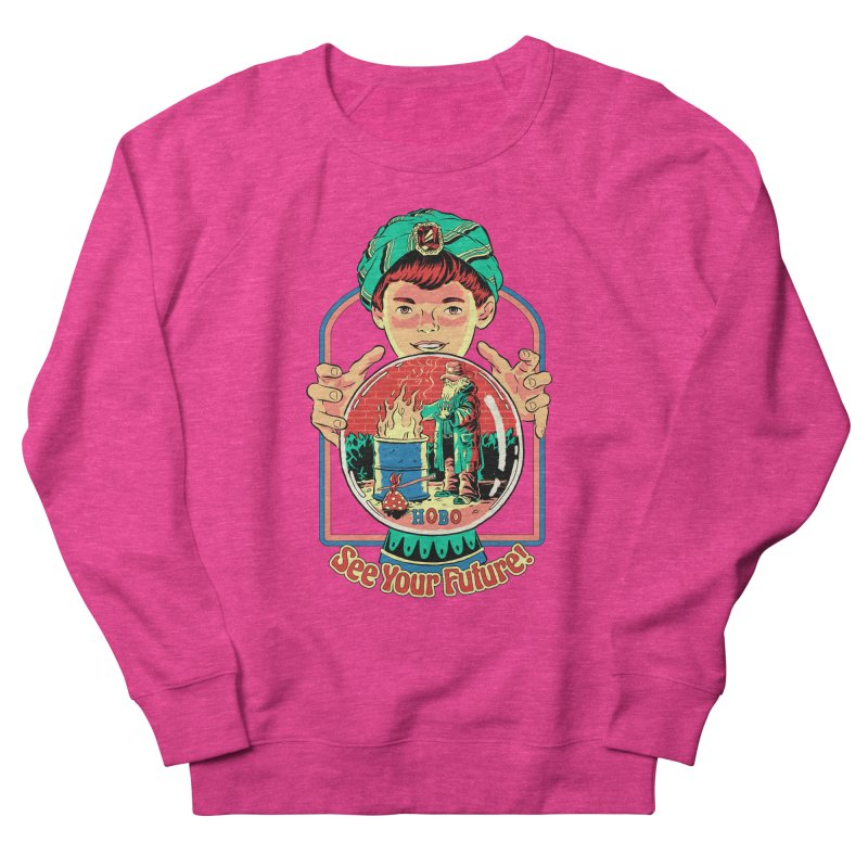 See Your Future! Men's French Terry Sweatshirt by Steven Rhodes