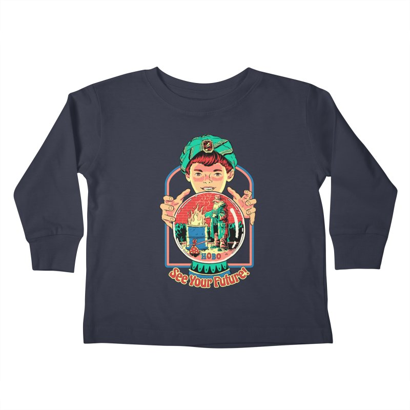 See Your Future! Kids Toddler Longsleeve T-Shirt by Steven Rhodes