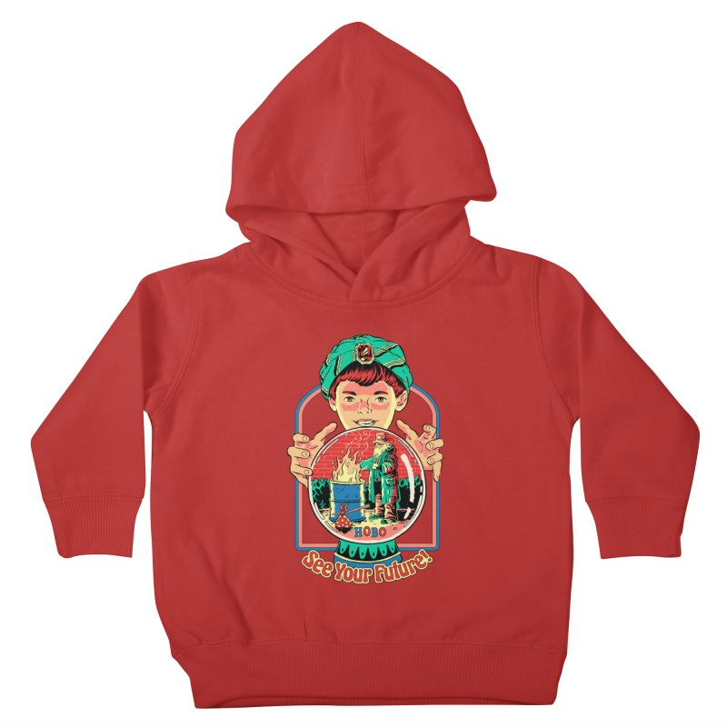 See Your Future! Kids Toddler Pullover Hoody by Steven Rhodes
