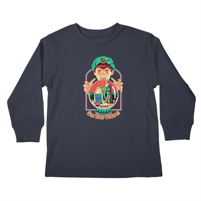 See Your Future! Kids Longsleeve T-Shirt by Steven Rhodes