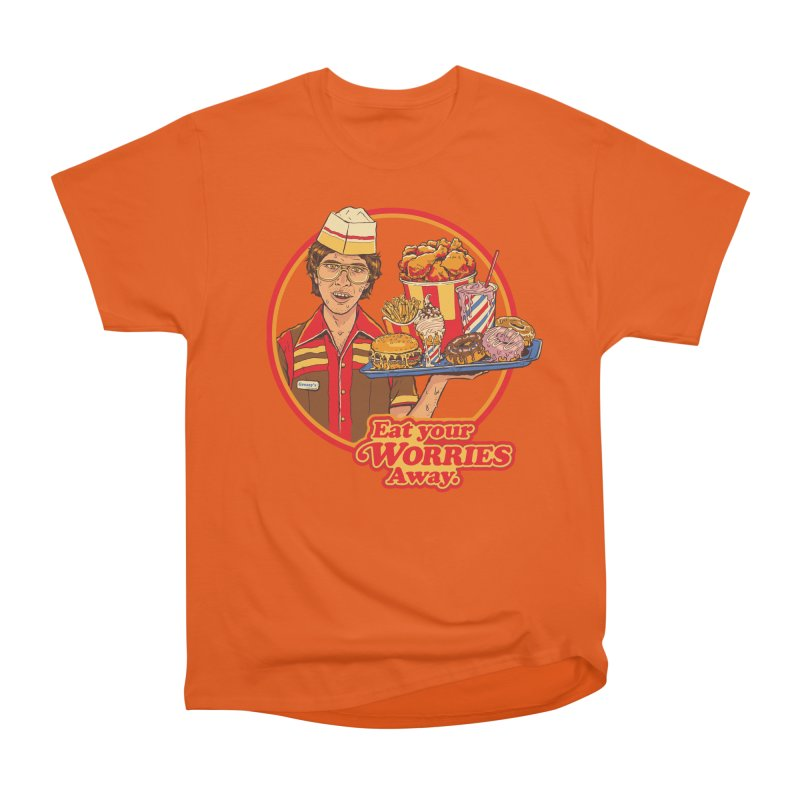 Eat Your Worries Women's T-Shirt by Steven Rhodes
