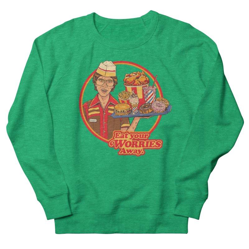 Eat Your Worries Women's Sweatshirt by Steven Rhodes