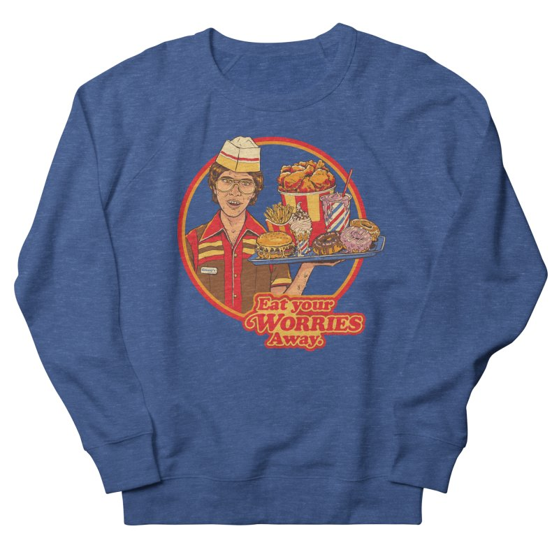 Eat Your Worries Men's Sweatshirt by Steven Rhodes
