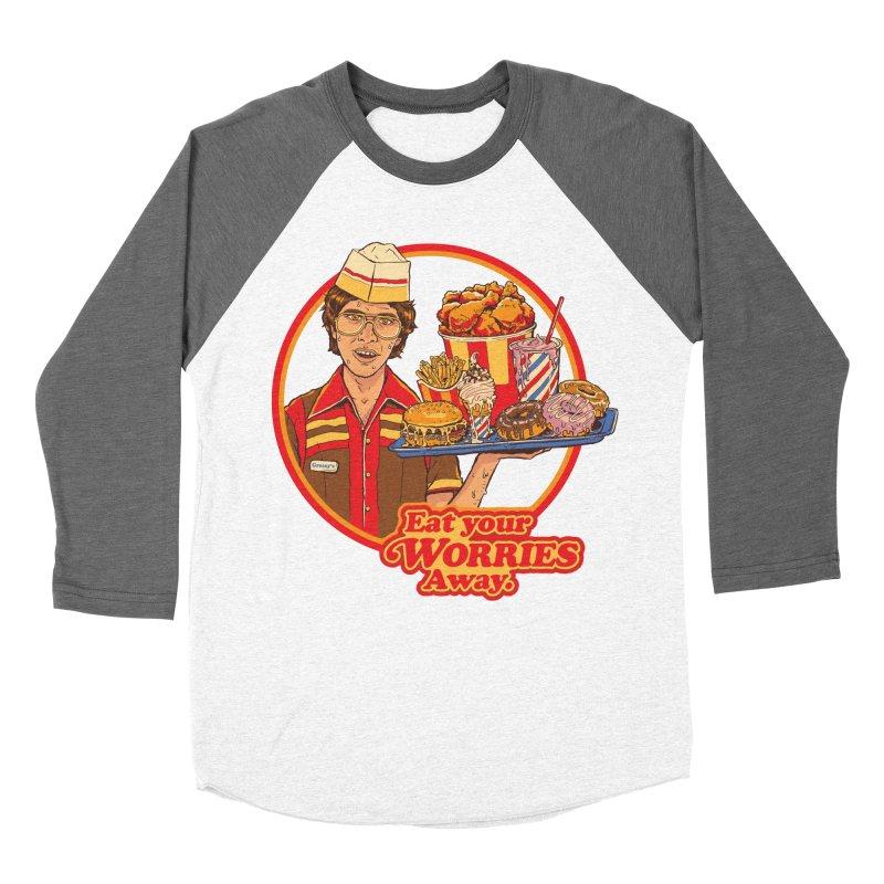 Eat Your Worries Women's Longsleeve T-Shirt by Steven Rhodes