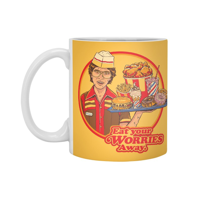 Eat Your Worries Accessories Mug by Steven Rhodes