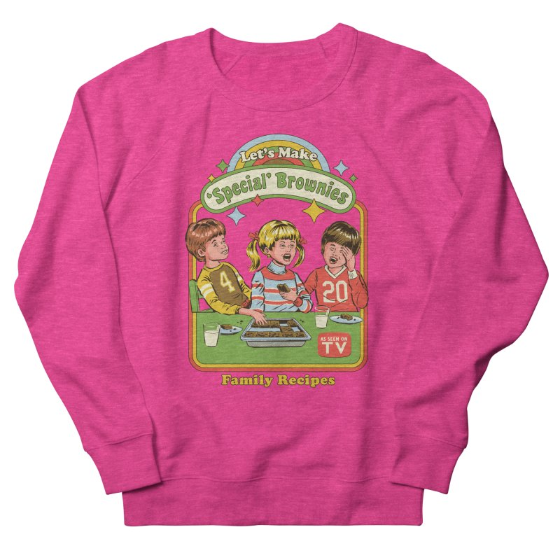Let's Make Brownies Women's French Terry Sweatshirt by Steven Rhodes