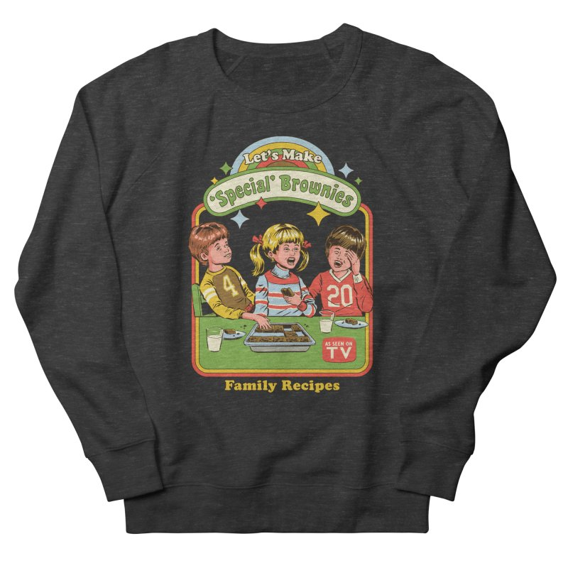Let's Make Brownies Men's French Terry Sweatshirt by Steven Rhodes