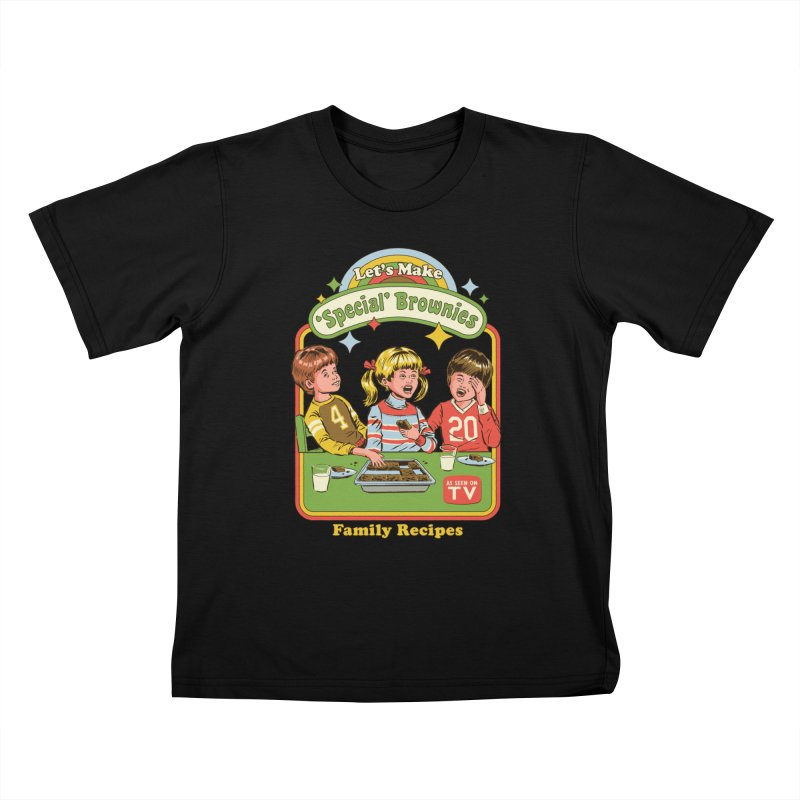 Let's Make Brownies Kids T-Shirt by Steven Rhodes