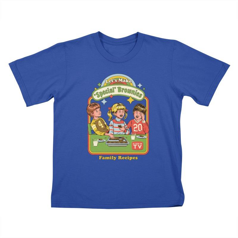 Let's Make Brownies Kids T-Shirt by Steven Rhodes