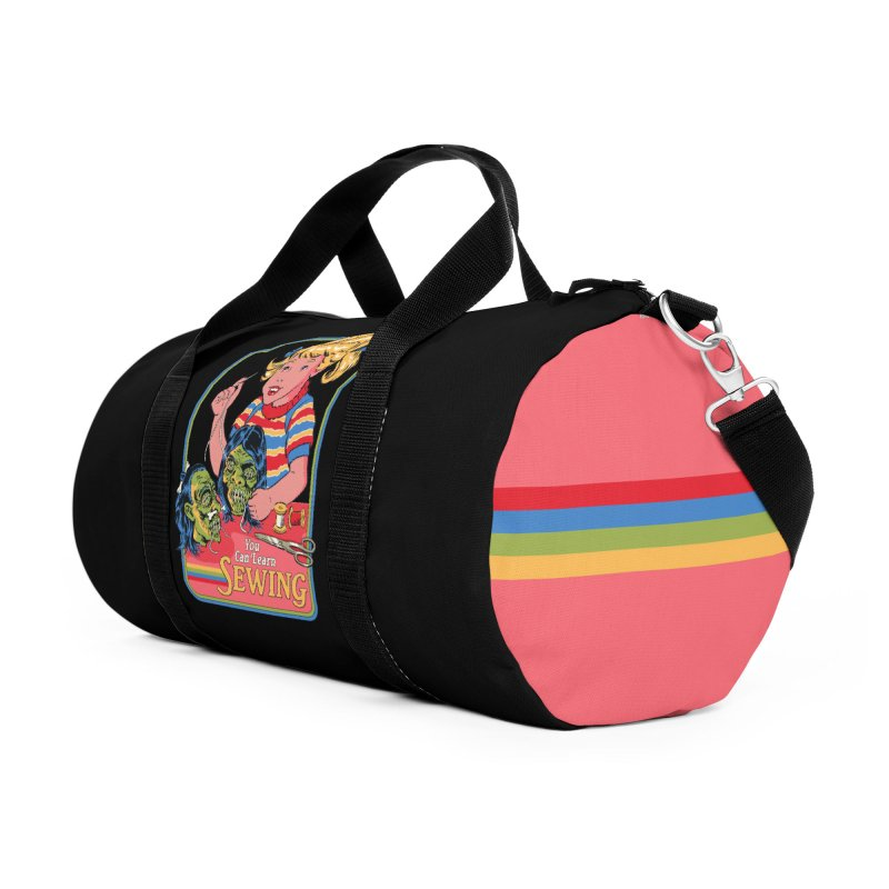 You Can Learn Sewing Accessories Duffel Bag Bag by Steven Rhodes