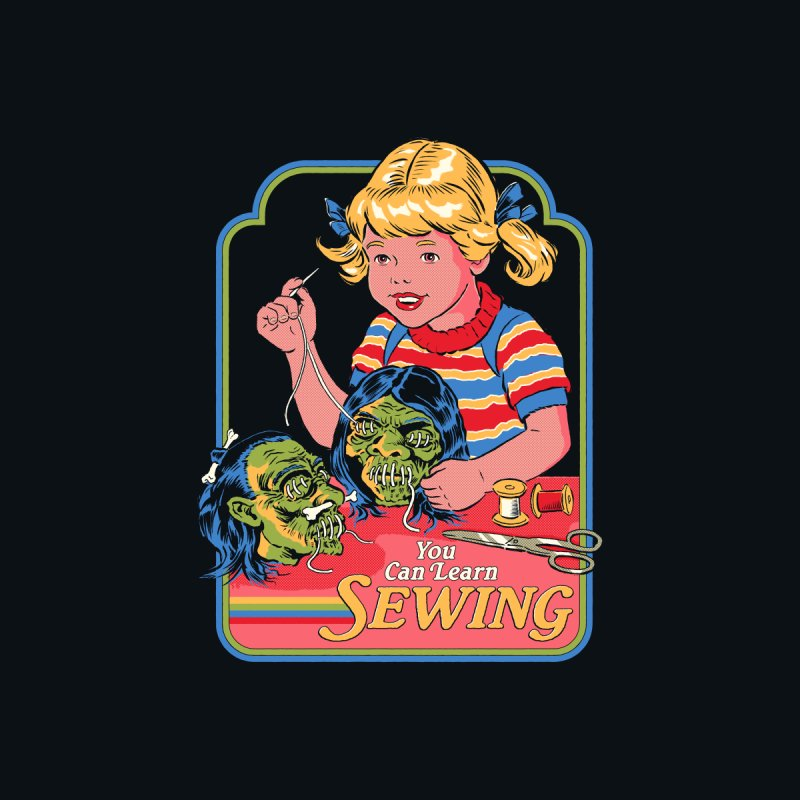 You Can Learn Sewing Men's Longsleeve T-Shirt by Steven Rhodes