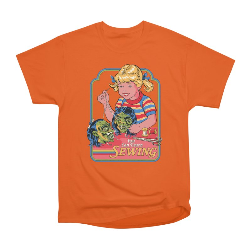 You Can Learn Sewing Men's T-Shirt by Steven Rhodes