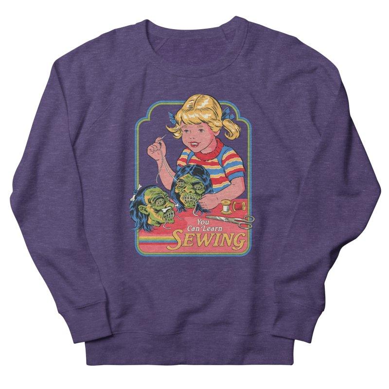 You Can Learn Sewing Men's Sweatshirt by Steven Rhodes