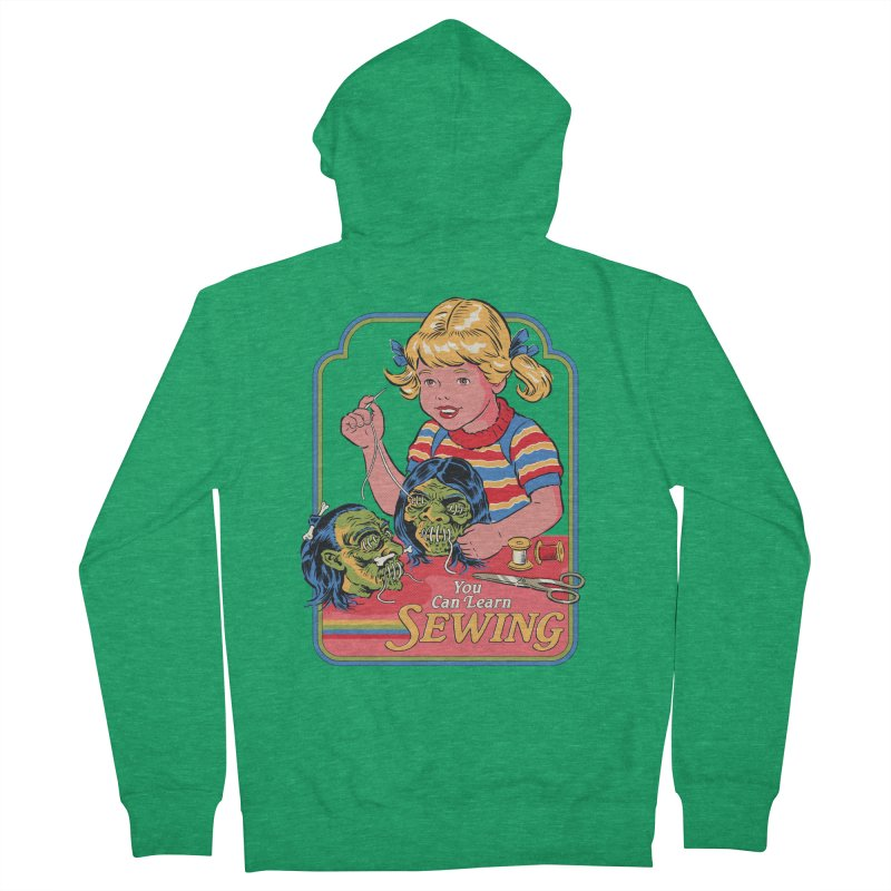 You Can Learn Sewing Women's French Terry Zip-Up Hoody by Steven Rhodes